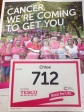 Race for Life 2014 - calling card!